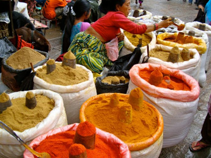 spice production in nepal
